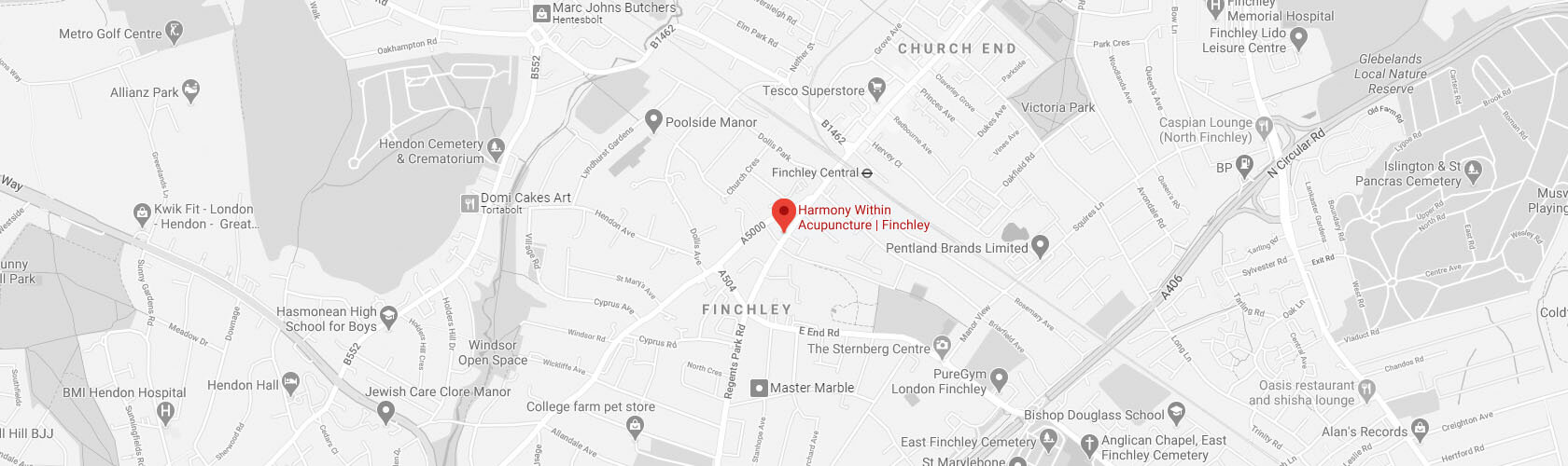Harmony within Acupuncture | Finchley on google maps